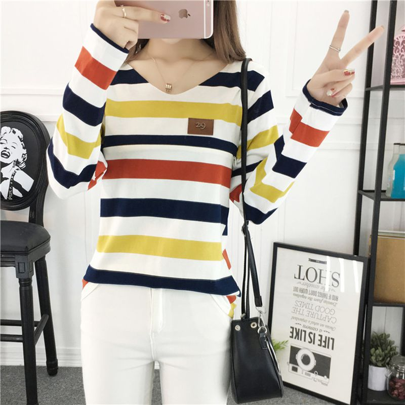 Autumn new breastfeeding clothes fashion trend striped T-shirt out feeding breastcoat цены