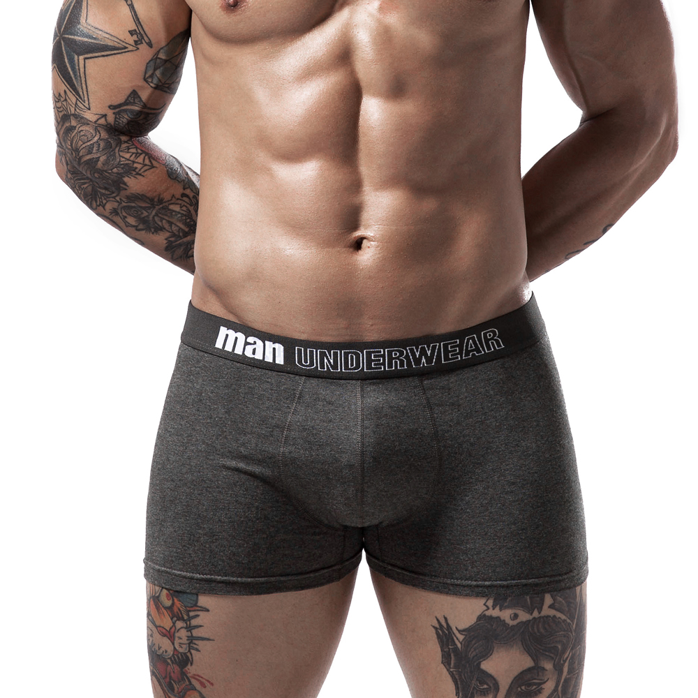 Rainbow Peace Sign Mens Underwear Boxer Briefs Breathable Multi