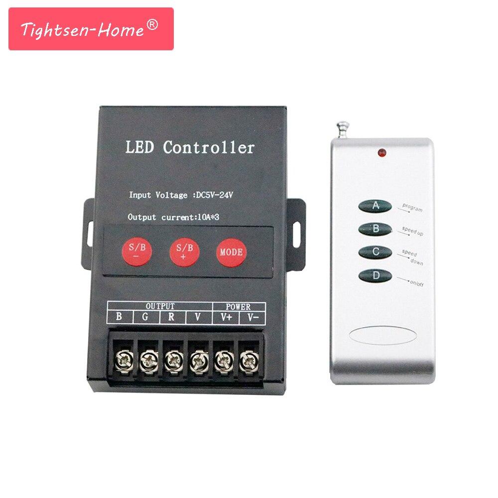 30A RF RGB Controller 4 Chiavi 360 W per la Striscia del Led Dimmer Interruttore di Controllo A Distanza Senza Fili per 5050 3825 RGB HA CONDOTTO LA Luce di Striscia DC5 ~ 24 V30A RF RGB Controller 4 Chiavi 360 W per la Striscia del Led Dimmer Interruttore di Controllo A Distanza Senza Fili per 5050 3825 RGB HA CONDOTTO LA Luce di Striscia DC5 ~ 24 V