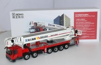Коллекционные сплава игрушечной модели подарок 1:50 соотношение XCMG DG100 с изображением пожарной лестницы грузовик Benz трактор литья под давлен