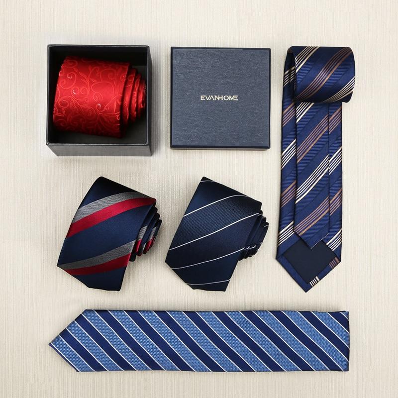 VÝPRODEJ Nové 2017 vysoce kvalitní pánské 100% hedvábí 7cm kravata módní Anglie obchodní kravata kravata luxusní hedvábí britská pruhovaná pánská kravata