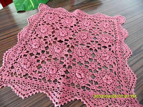 2015 New Arrival Zakka Fashion Cotton Crochet Lace Sofa Cover With