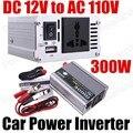 Grande venda de Onda Senoidal Modificada carro conversor transformador de tensão DC 12 V para AC 110 V 300 W Inversor de Potência Do Carro com USB porta