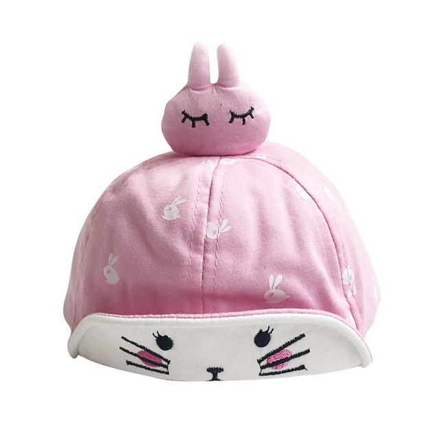 1137b42180a5 Aliexpress.com   Buy Baby Girl Hat Baby Cute Rabbit Cap Boys Summer ...