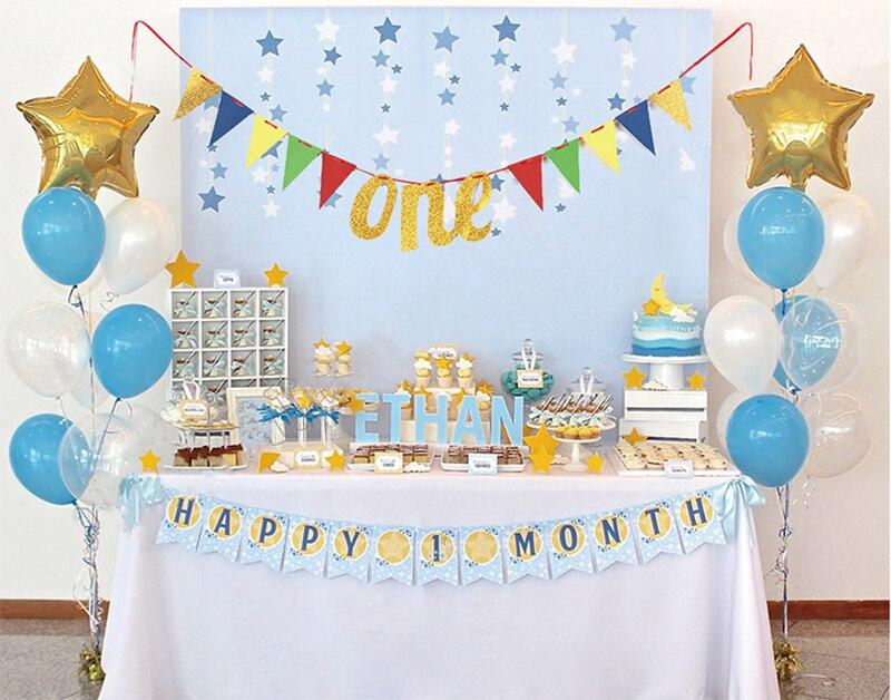 First Birthday Banner, One Banner, 1st Birthday Banner, High Chair Banner, Birthday Decor, Gold Pink Glitter Birthday Banner
