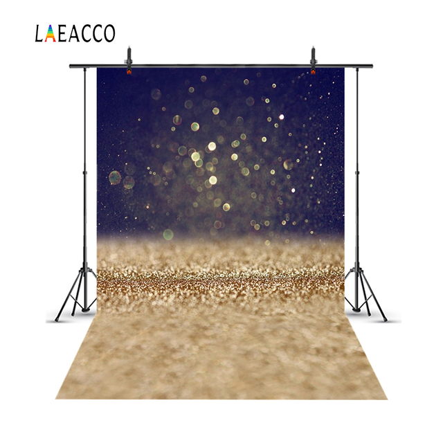 Laeacco Light Bokeh Glitters Baby Portrait Kids Scene Photography Backgrounds Customized Photographic Backdrops For Photo Studio