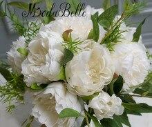 Elegant Wedding Flowers: Bridal Bouquets Green / Ivory
