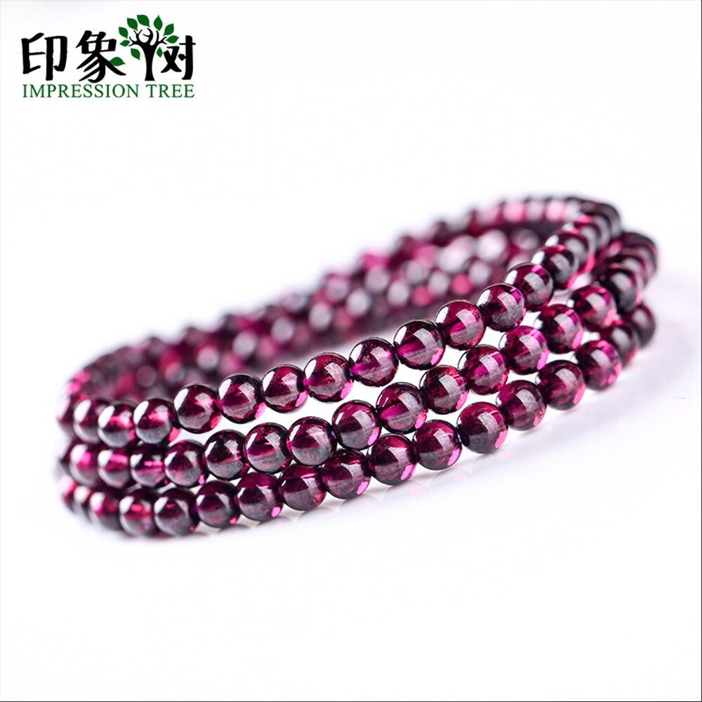 Natural roxo almandine granada liso redondo grânulo 3.6/4.5/5mm costa aaaa escuro granada pedra grânulo diy para fazer jóias 22018