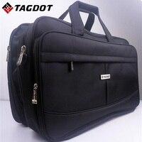 Super capacity portable laptop bag 19 18 17.3 17 inch Big capacity Shoulder Messenger Business multifunction man computer bag