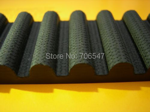 Free Shipping 1pcs HTD1260-14M-40 teeth 90 width 40mm length 1260mm HTD14M 1260 14M 40 Arc teeth Industrial Rubber timing belt high torque 14m timing belt 1246 14m 40 teeth 89 width 40mm length 1246mm neoprene rubber htd1246 14m 40 htd14m belt htd1246 14m