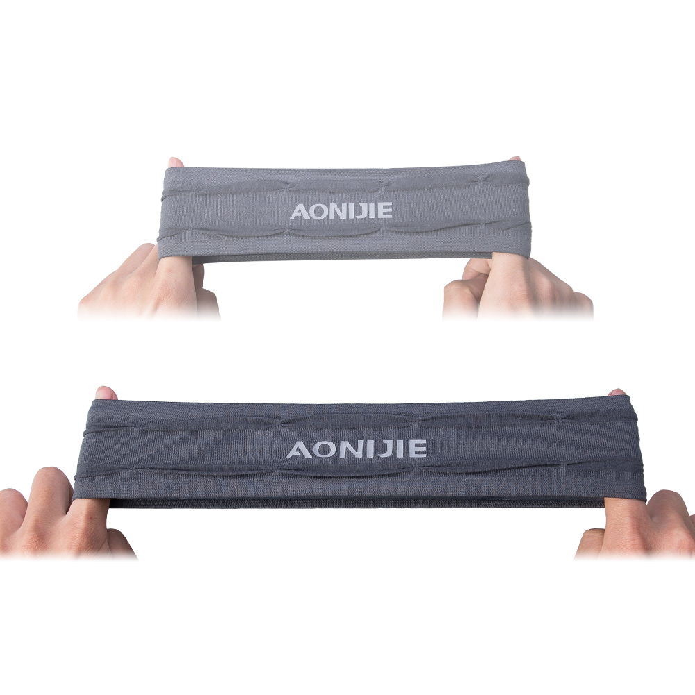 AONIJIE Yoga Hair Bands Workout Headband Non slip Sweatband Wrist Band Soft Stretchy Bandana Running Crossfit Gym Fitness in Yoga Hair Bands from Sports Entertainment