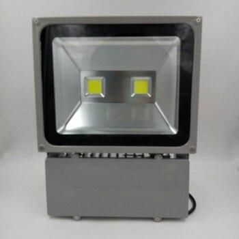 10pcs100W LED lumière d'inondation 220 V chaud froid blanc étanche extérieur LED projecteur extérieur nouveau Style DHL livraison gratuite