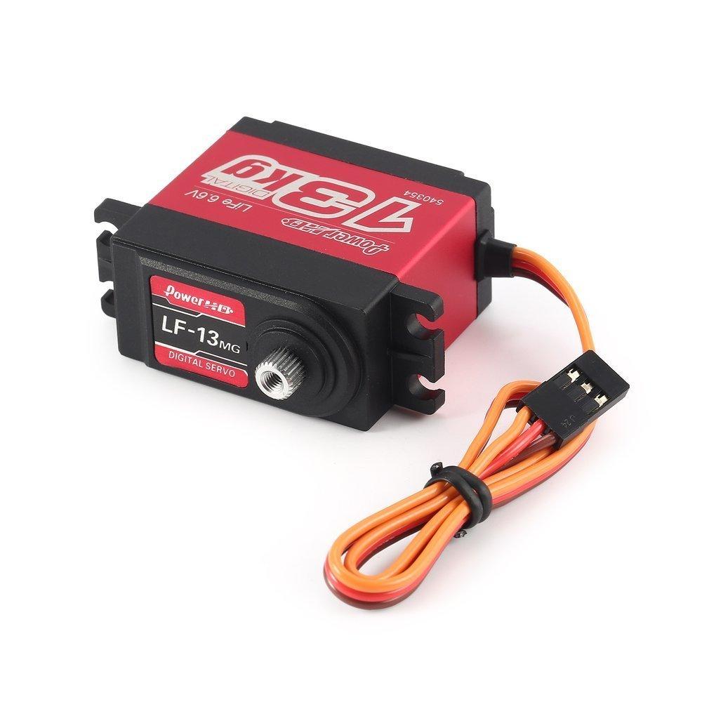 Power HD LF-13MG Standard Digital High Speed 13KG Servo For 1:10 1:8 RC Steering Cars