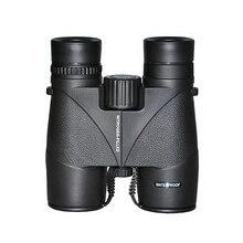Compact 8x32 Binocular Telescope Black HD Waterproof Wide Angle Binoculars Outdoor Camping Hunting Bird-watching