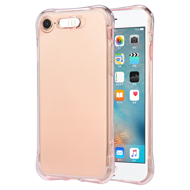 new fashion mobile phone cases cover led flash light up incoming
