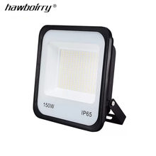 Ultra-thin AC 110- 220V LED 50W 100W 150W 200W Floodlight Spotlight Outdoor Wall Mount Lamp Garden Factory Garage