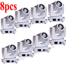 Shipping from US 8pcs/lot white case Highest end 230W 7R Moving Head Light Beam 230W Sharpy Stage DJ lighting(China)