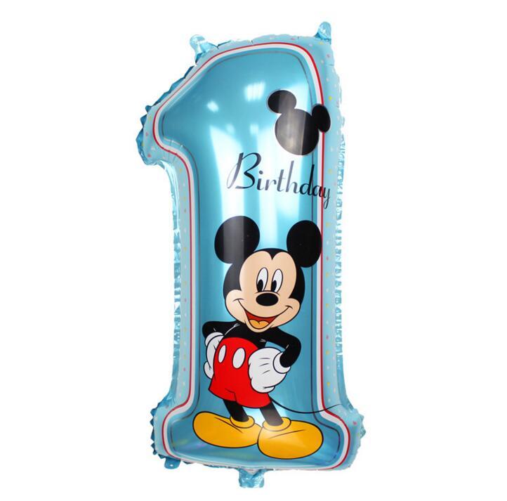 Nieuwe 30 inch Mitch Mini digitale 1 ballon Mickey Mouse aluminium - Feestversiering en feestartikelen - Foto 2