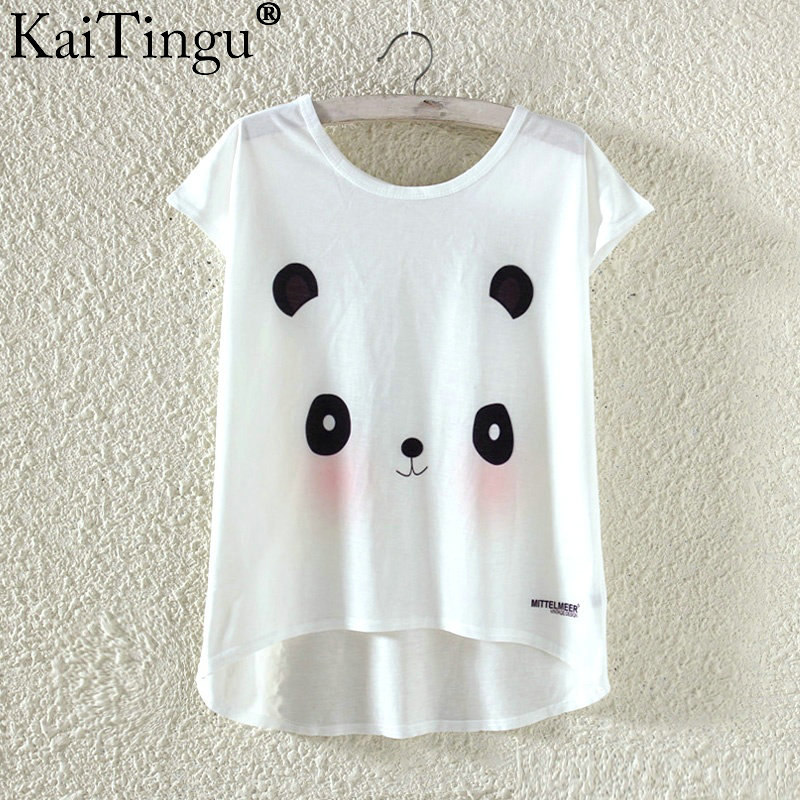 HTB1SehbPXXXXXcNXFXXq6xXFXXXX - Kawaii Cute T Shirt Harajuku High Low Style Cat Print