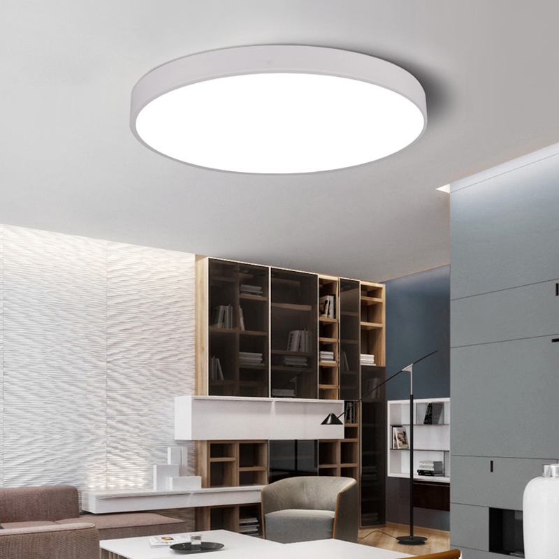 WSFS Hot ultra-thin LED ceiling lighting ceiling lamps for the living room chandeliers Ceiling for the hall modern ceiling lamp dias de nevada