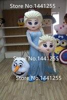 Gorąca Sprzedaż Elsa Maskotki Kostium Księżniczka Elsa Kostium