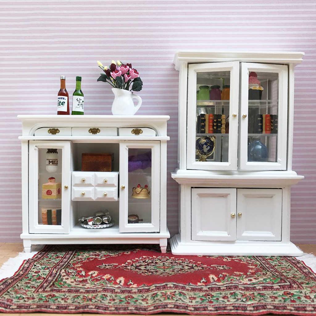 1 12 Dollhouse Miniature Furniture Multifunction Drawer Display