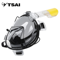 R10 Professional Adult Full Face Diving Mask Comfortable Waterproof Underwater Diving Mask Anti Fog Full Face