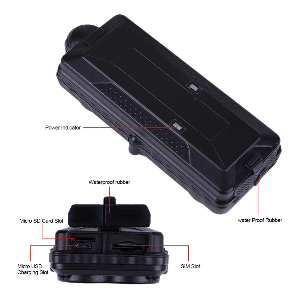 3G GPS Car Tracker TK10G Precise Positioning SD Offline Data Logger 10000mAH Rechargeable Battery Waterproof Magnet Google Map