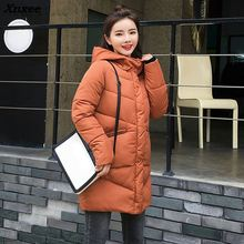 winter jacket women parka down coat cotton padded Woman Winter Jacket Coat 2018 Xnxee