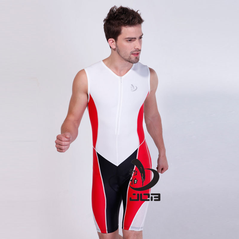 ironman triathlon clothes ride running suit cycling wear tri suit sleeveless triathlon wetsuit for man and