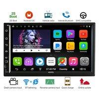 ATOTO A6 Двойной Дин Android GPS для автомобиля, стерео плеер/Dual Bluetooth/A62711PB 1G + 32G/2A Быстрая зарядка/Indash Мультимедиа Радио/WiFi