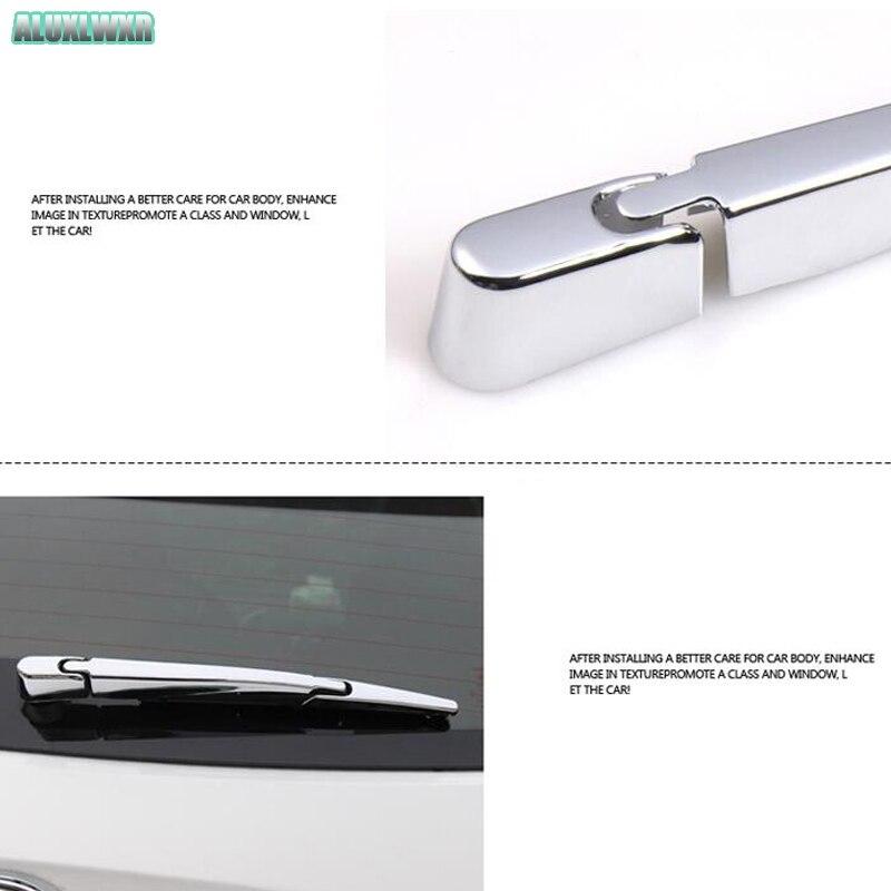 Автомобильный Стайлинг хромированные задние оконные щетки стеклоочистителя Накладка насадка для jac s3 2014 2015 2016 2017 2018|Хромирование|   | АлиЭкспресс