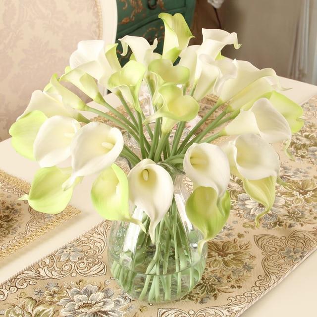 10 Teile Satz Calla Lilie Hause Tischdekoration Blumen Kunstliche