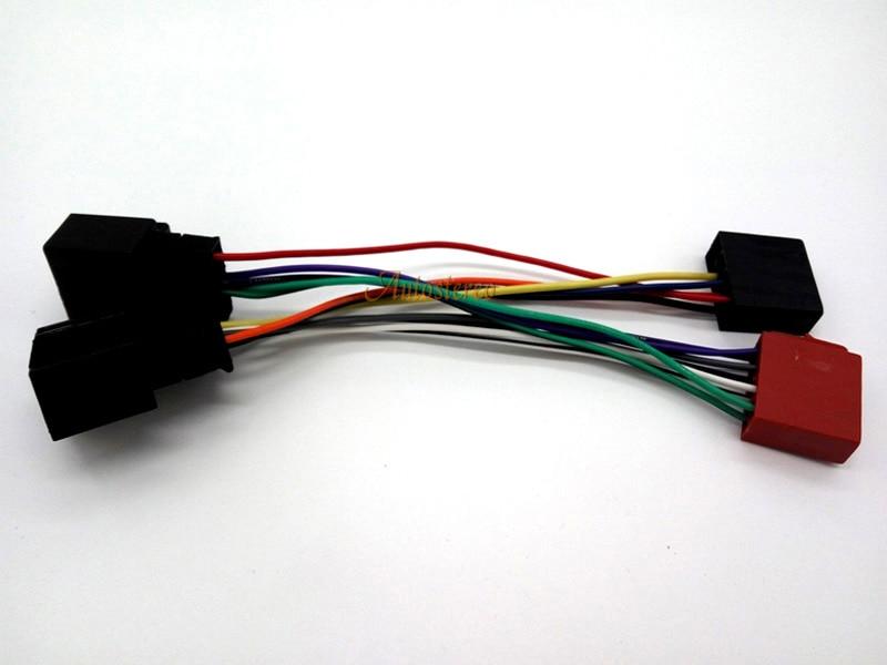 12 006 ISO Kabelbaum Radio Kabel Adapter für Chevrolet Opel Draht ...