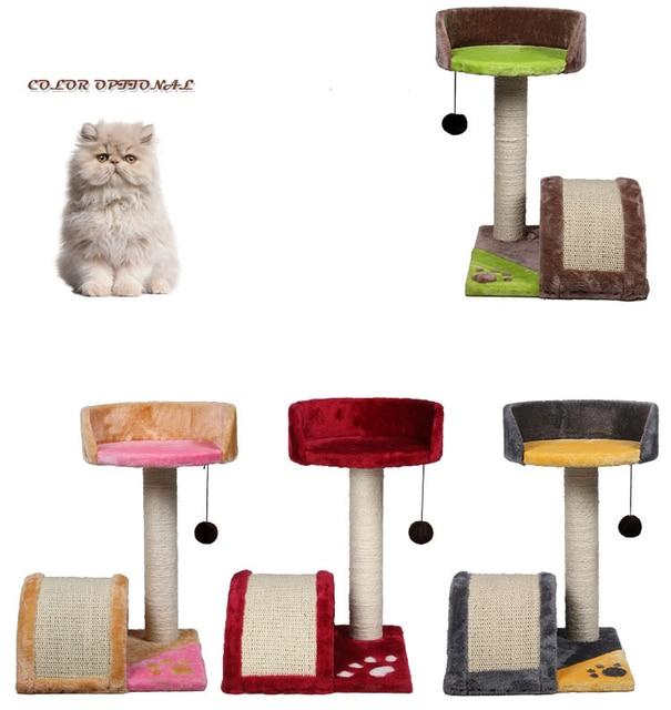 Small Pet Multilayer cat climbing frame Ultra hollow sense of ...