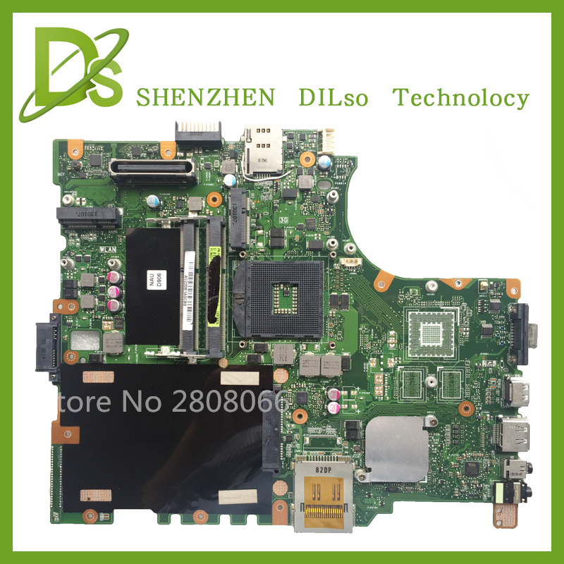 For ASUS B53V B53A B53AV laptop motherboard B53V mainboard REV2.0 & REV2.1  Integrated 100% for asus a8se laptop motherboard mainboard 100