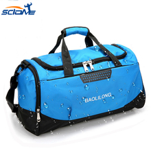 Gym-Bag Sports-Bag Shoes Shoulder Fitness-Training Sac-De-Sport Waterproof Scione