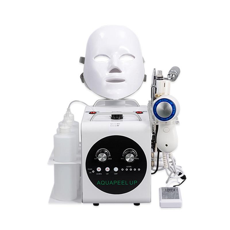 ホット販売で 5 1 真空顔クリーニングハイドロ水酸素ジェットの皮機ポアクリーナー顔マッサージスキンケア美容機器  グループ上の 美容 & 健康 からの 顔スキンケアツール の中 1