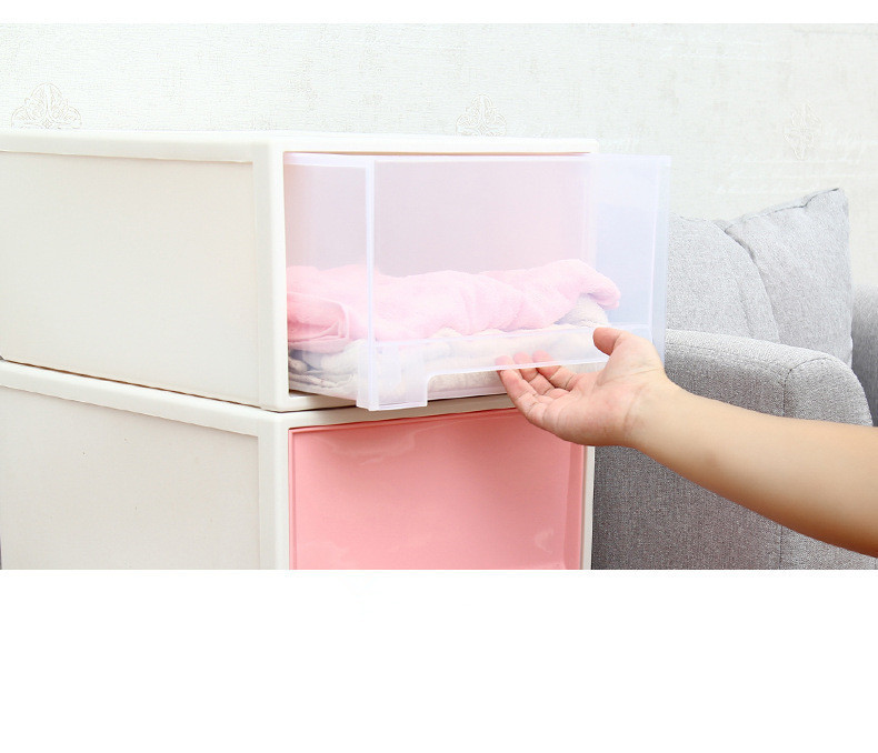 1PC Desktop Makeup Case Storage Box Organizer Container Office Drawers Jewelry Holder Cabinet Remote Control Storage Box OK 0455