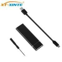 USB 3.1 à M.2 NGFF SSD boîtier de disque dur Mobile adaptateur carte boîtier externe pour m2 SATA SSD USB 3.1 2230/2242/2260/2280