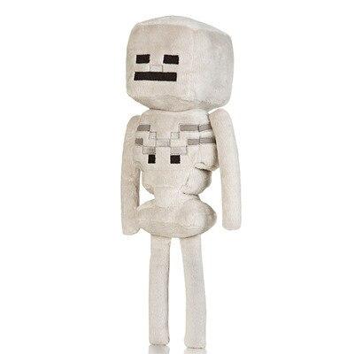 24 cm 36 cm esqueleto minecraft minecraft jogo brinquedos de pelúcia