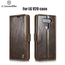 Luxury Flip Leather sFor LG V20 case Luxury Business Style Magnet Wallet Stand Card Holder Case LG V 20 Cover Phone Bag
