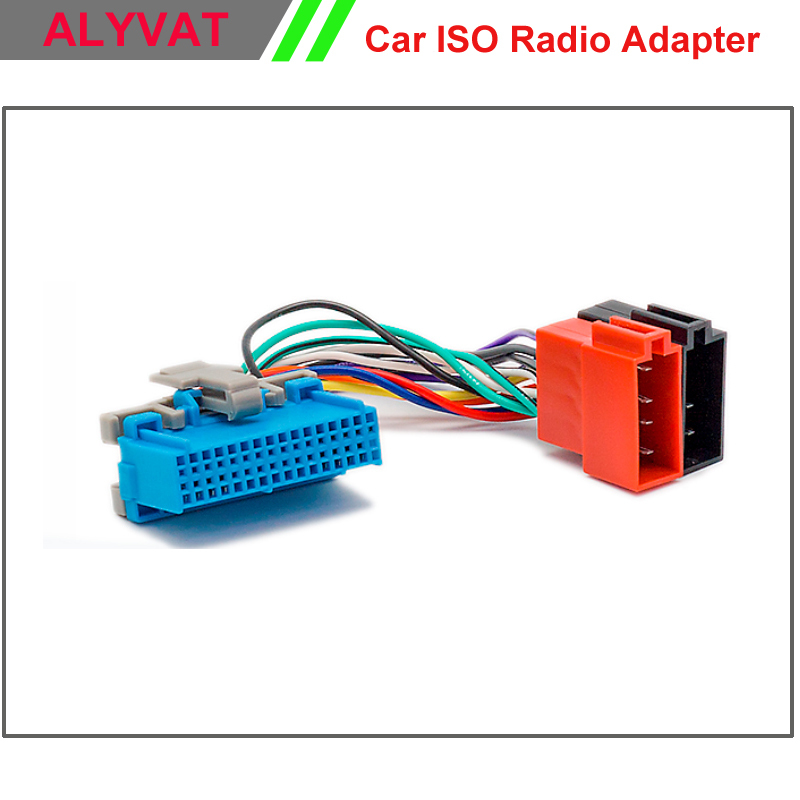 Car Stereo Iso Radio Adapter Connector For Buick Cadillac