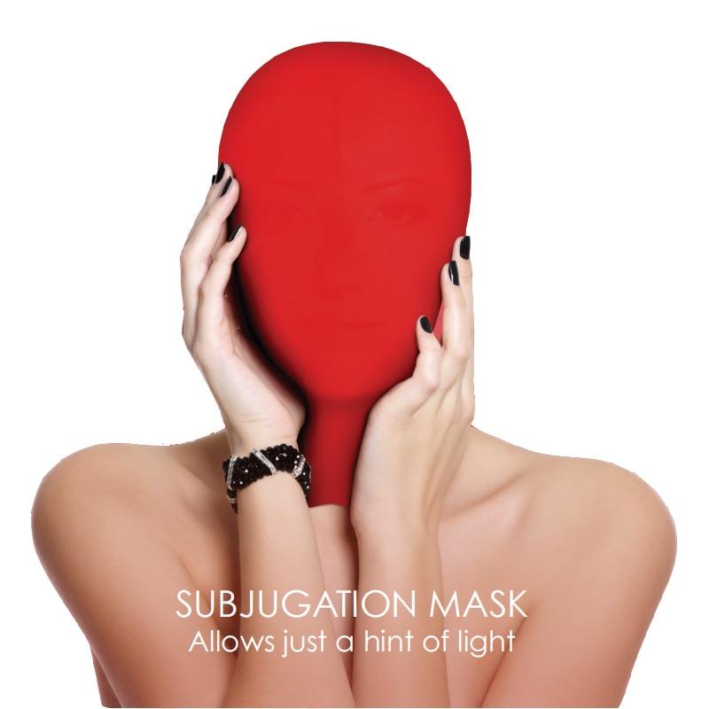 Exotic Accessories Head Sex Mask Fetish Slave BDSM Bondage Restraints Sex for Couples Love Game 3