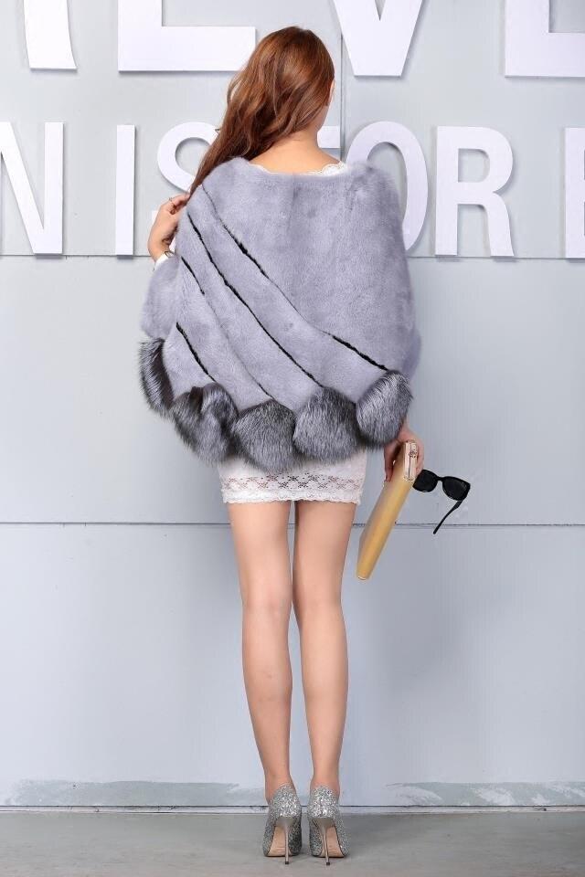 Իրական մինկե մորթյա բաճկոն և ցամաք - Կանացի հագուստ - Լուսանկար 4