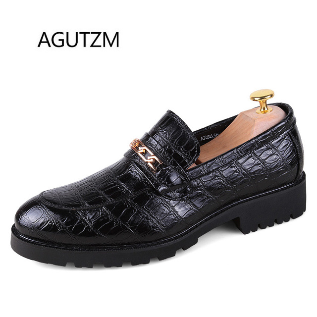 shopping online high quality Men Casual Soft Slip-on PU Leather Oxford Shoes cheap sale affordable XRDh7RR0