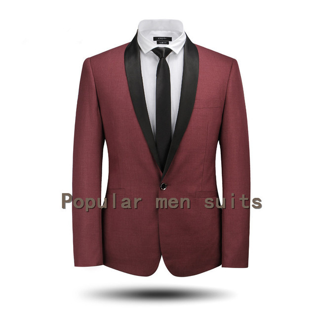 Aliexpress.com : Buy New Custom Made Slim Fit Suits Wedding Men ...