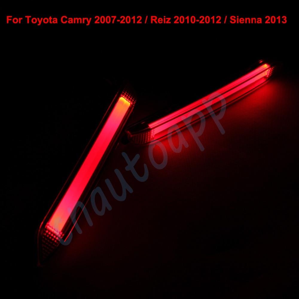 LED Rear Bunper Warning Lights Car Brake Light Running
