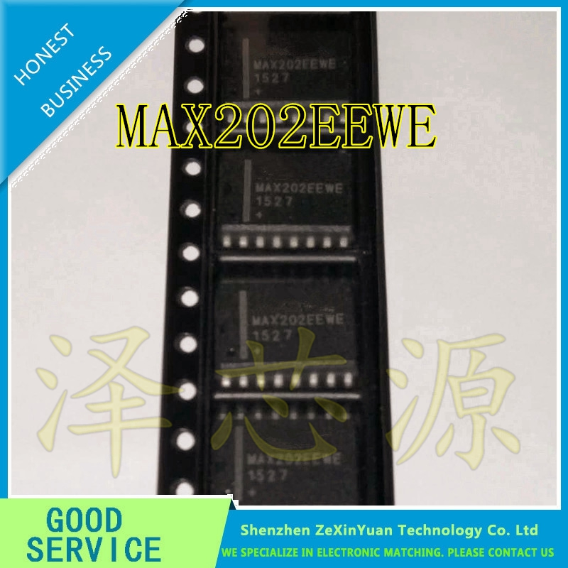 10 PCS MAX202ECPE DIP-16 MAX202 RS-232 Transceivers