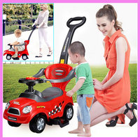 Electric Baby Walker Assistant With Four Wheel Toys Chargable Car Stroller Pushchair Walkers Buggy Pram 6